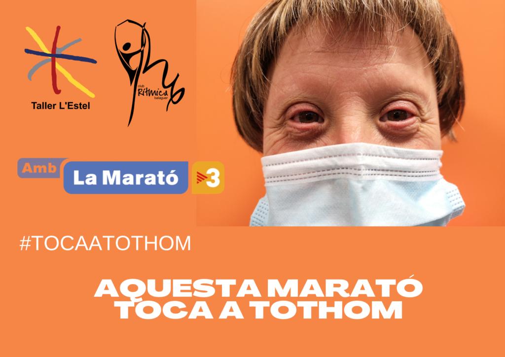 AQUESTA MARATÓ TOCA A TOTHOM