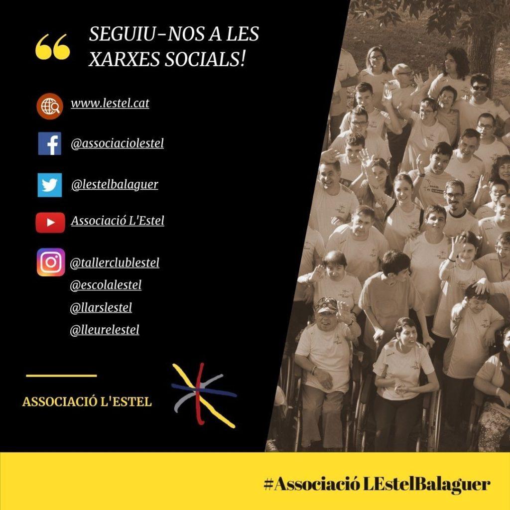 sEGUIU-NOS A LES XARXES SOCIALS!